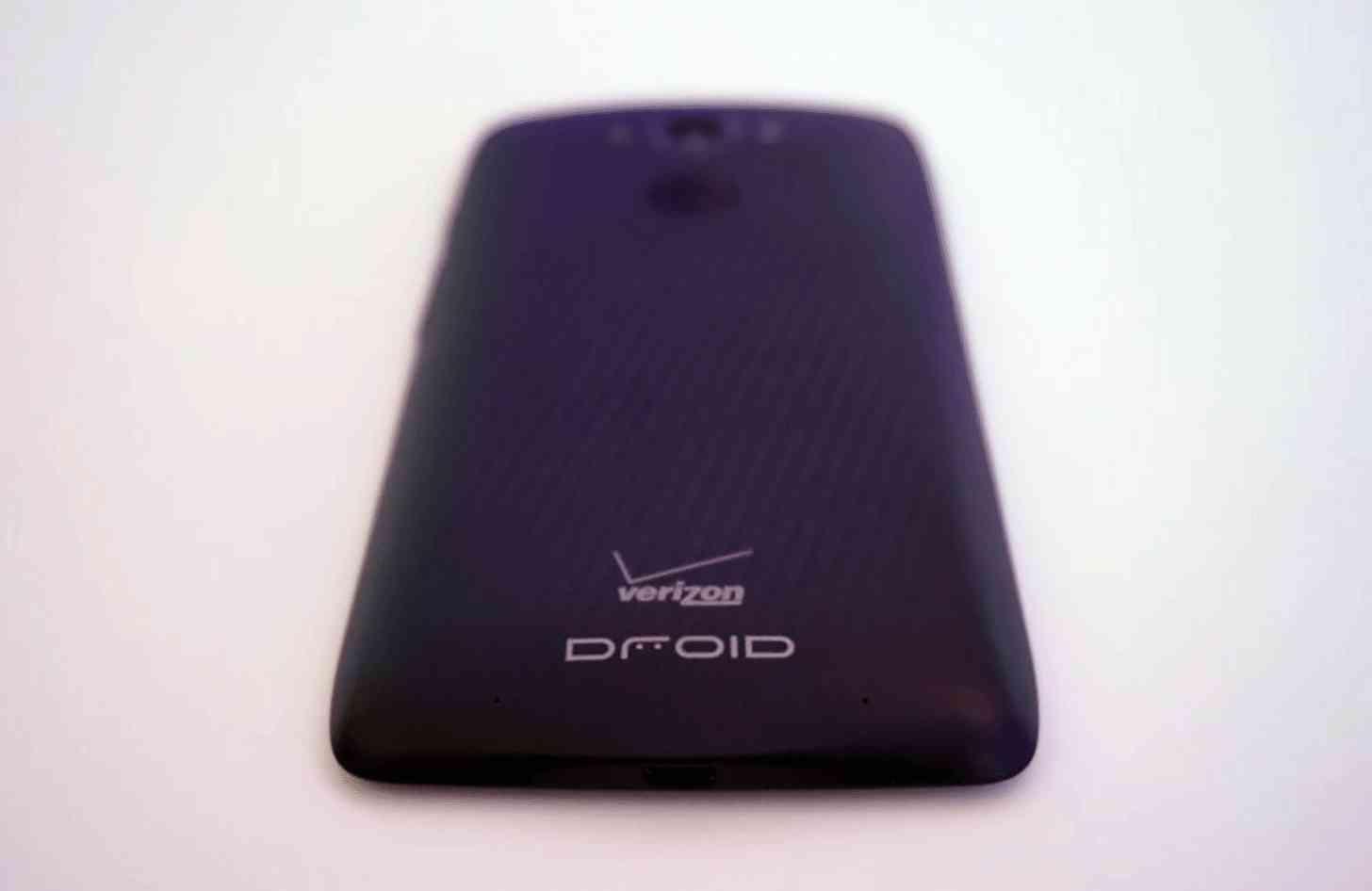 Motorola DROID Turbo rear large