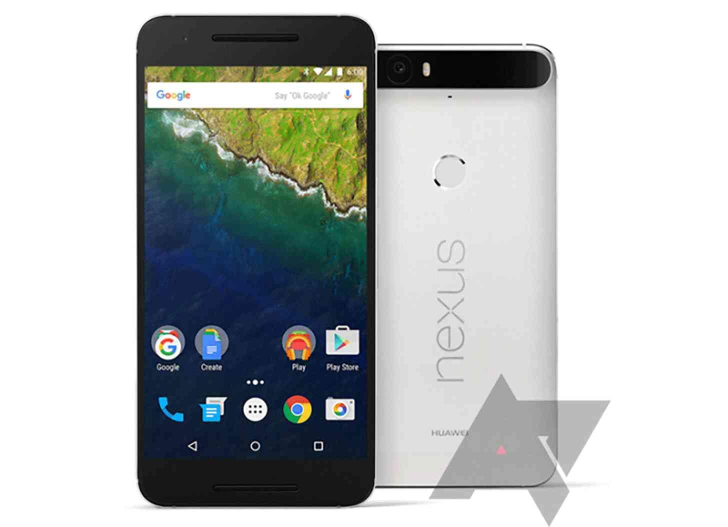 Huawei Nexus 6P leak large