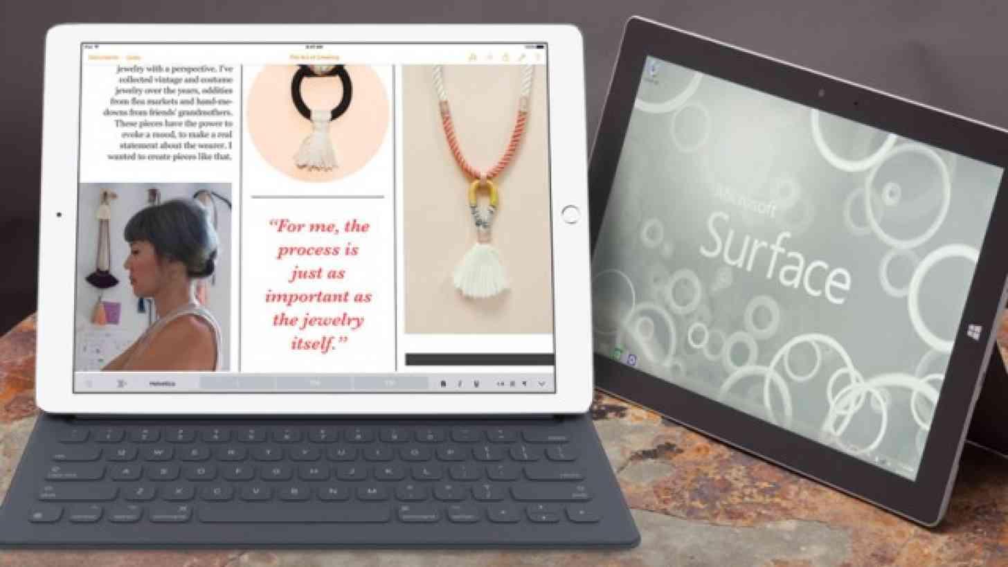 Apple iPad Pro Surface Pro 3