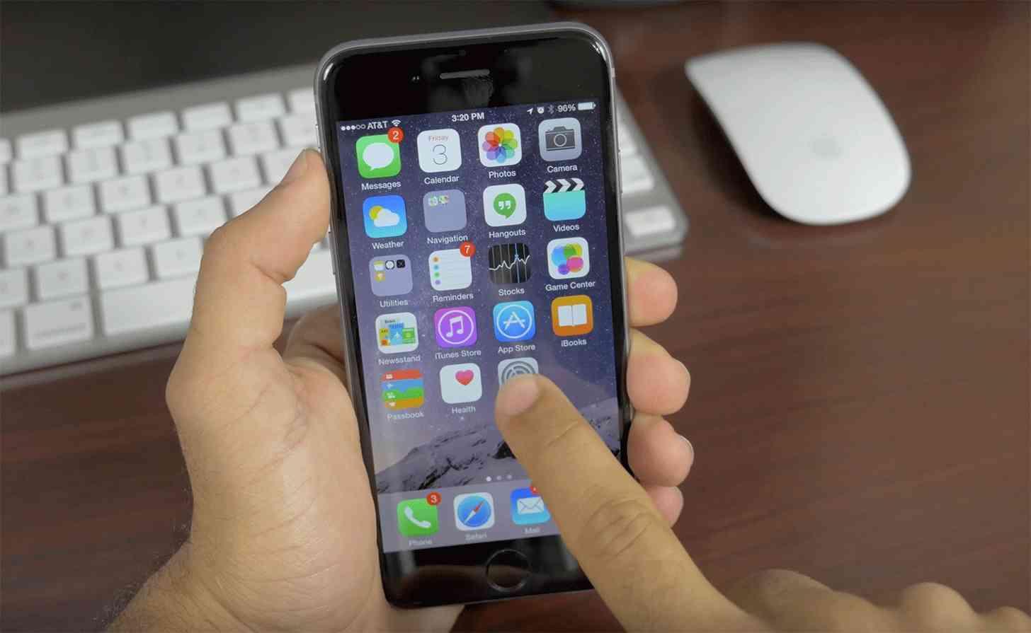 iPhone 6 preinstalled Apple apps