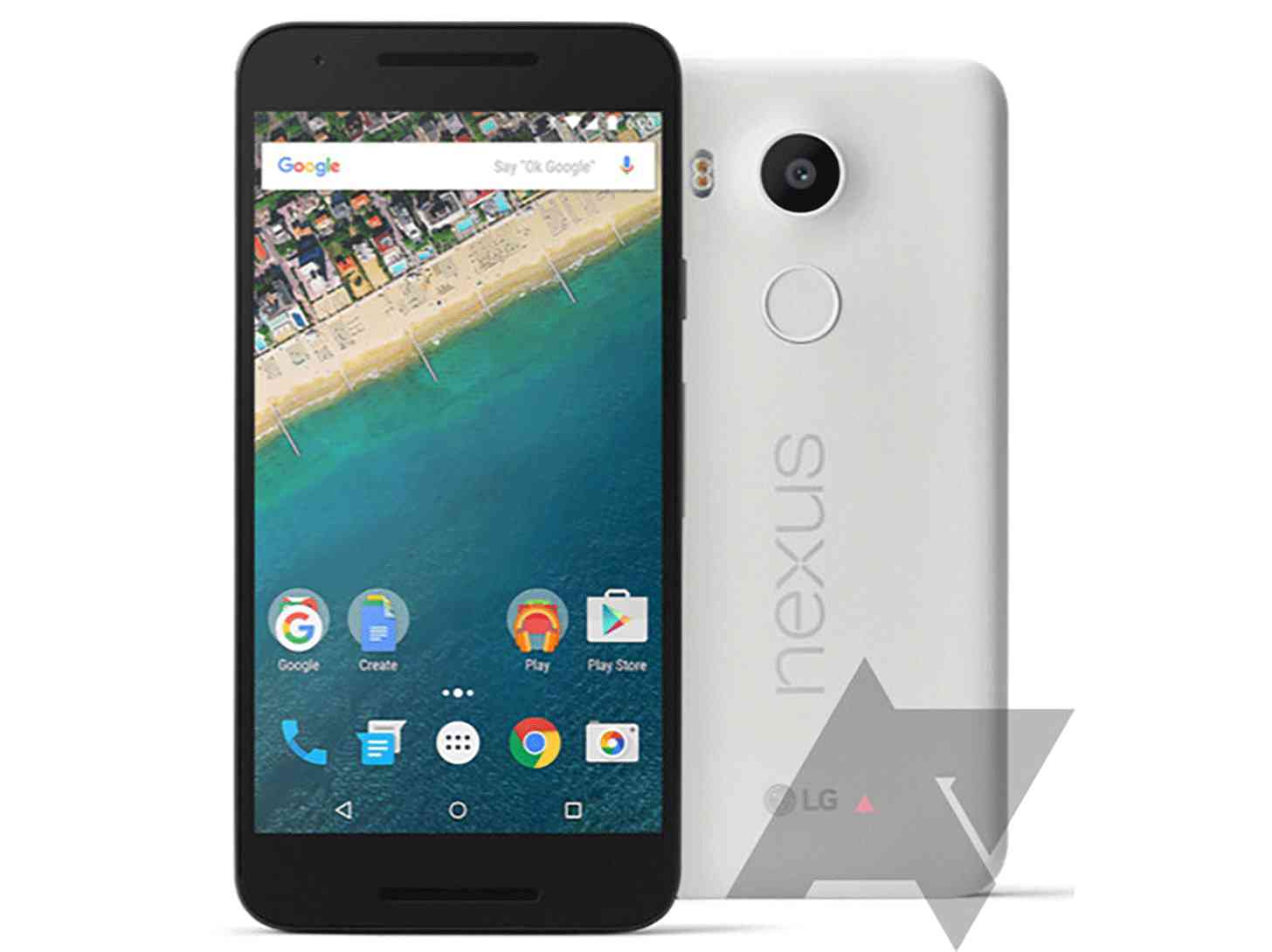 LG Nexus 5X front rear leak large