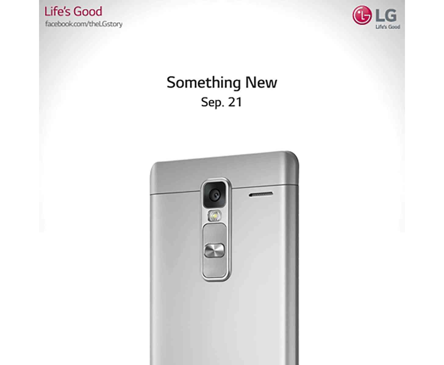 LG Something New September 21 teaser