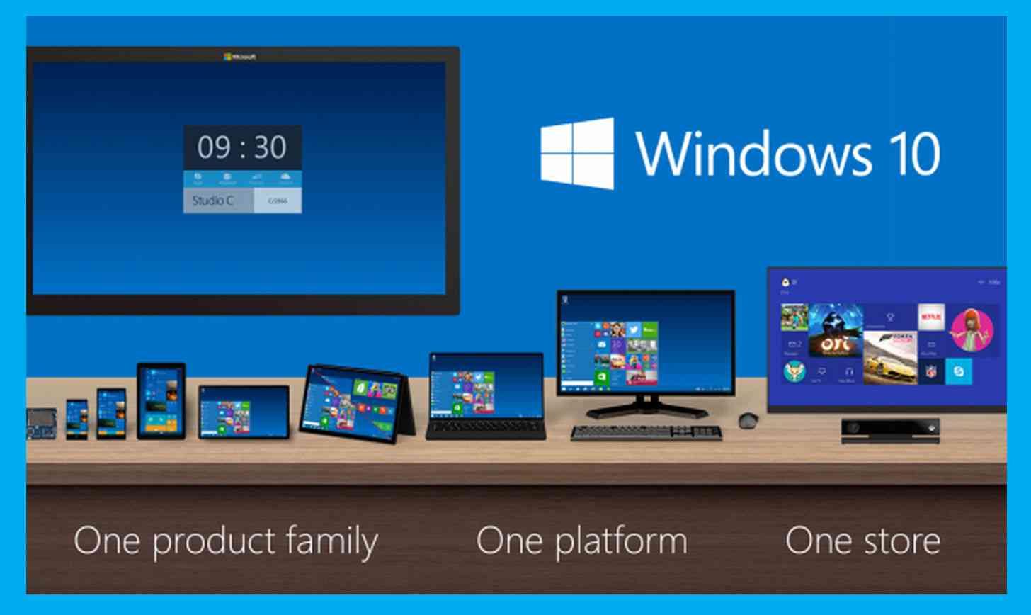 Microsoft Windows 10 family