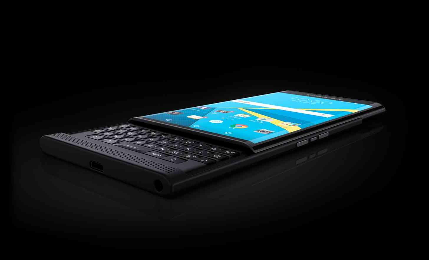 BlackBerry Priv open angle