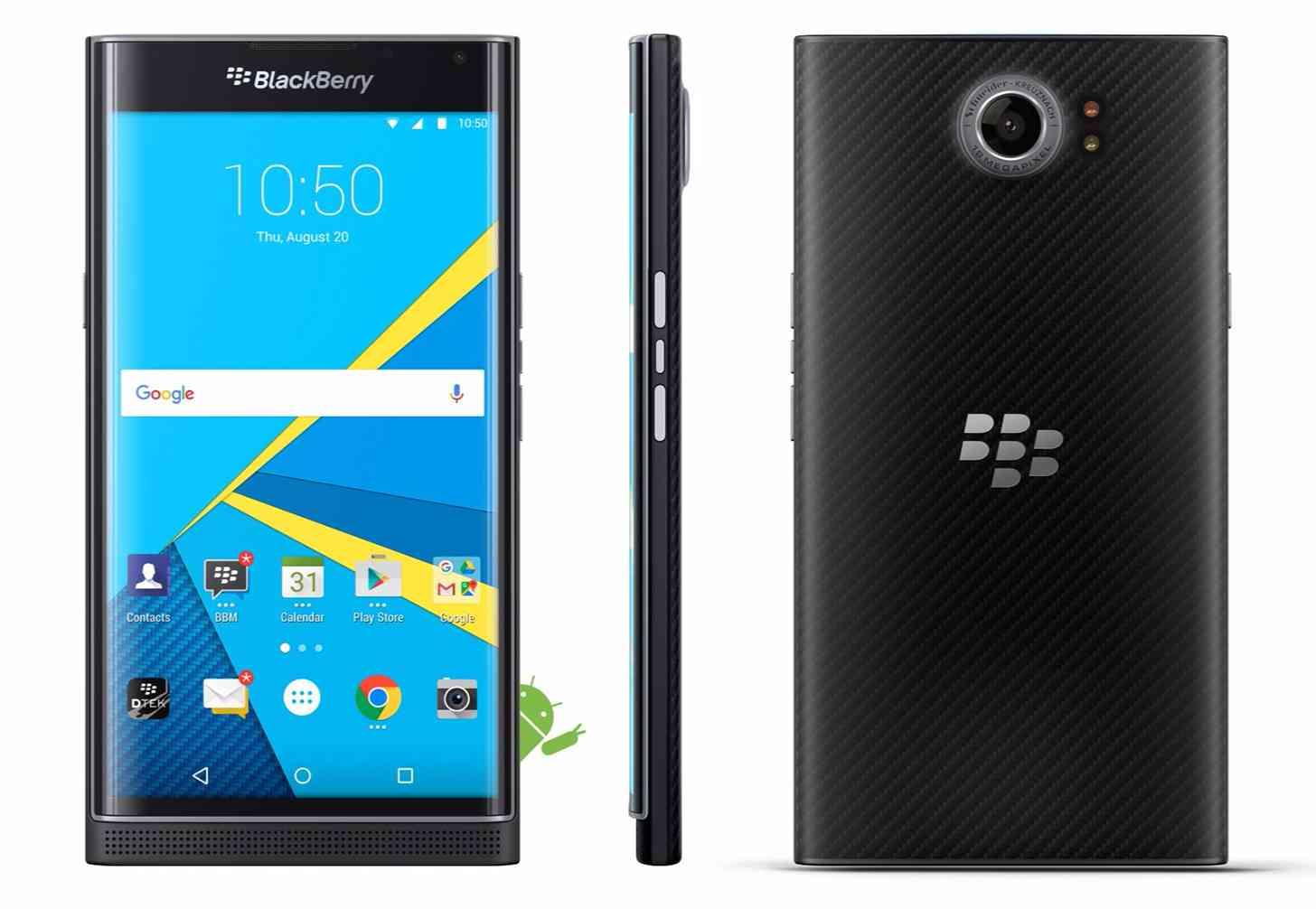 BlackBerry Priv official images