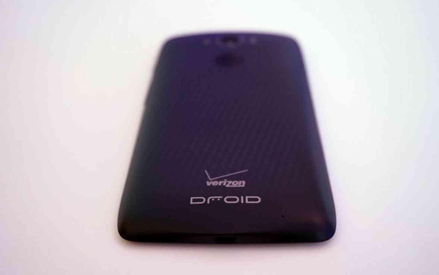 Motorola DROID Turbo rear