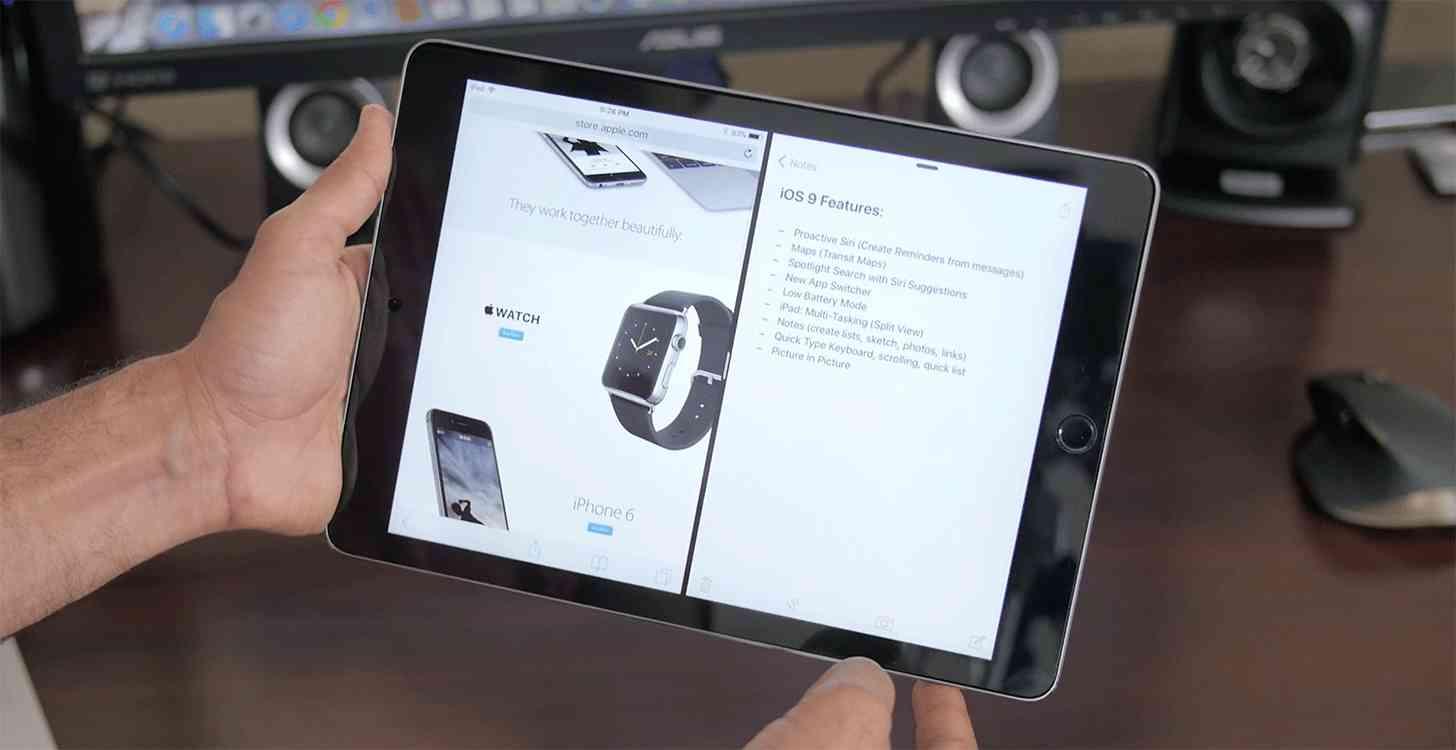 iPad Air 2 iOS 9