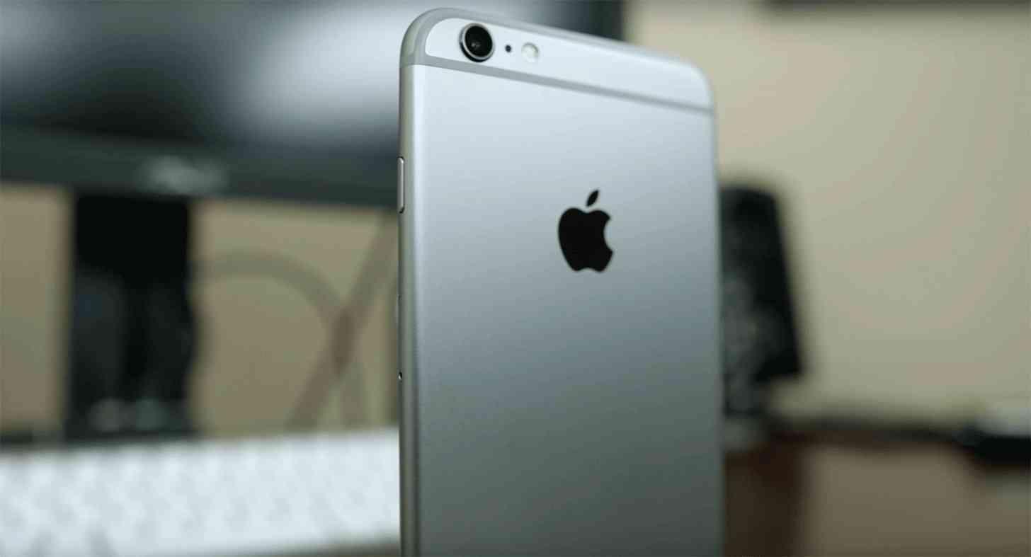 iPhone 6s Plus rear