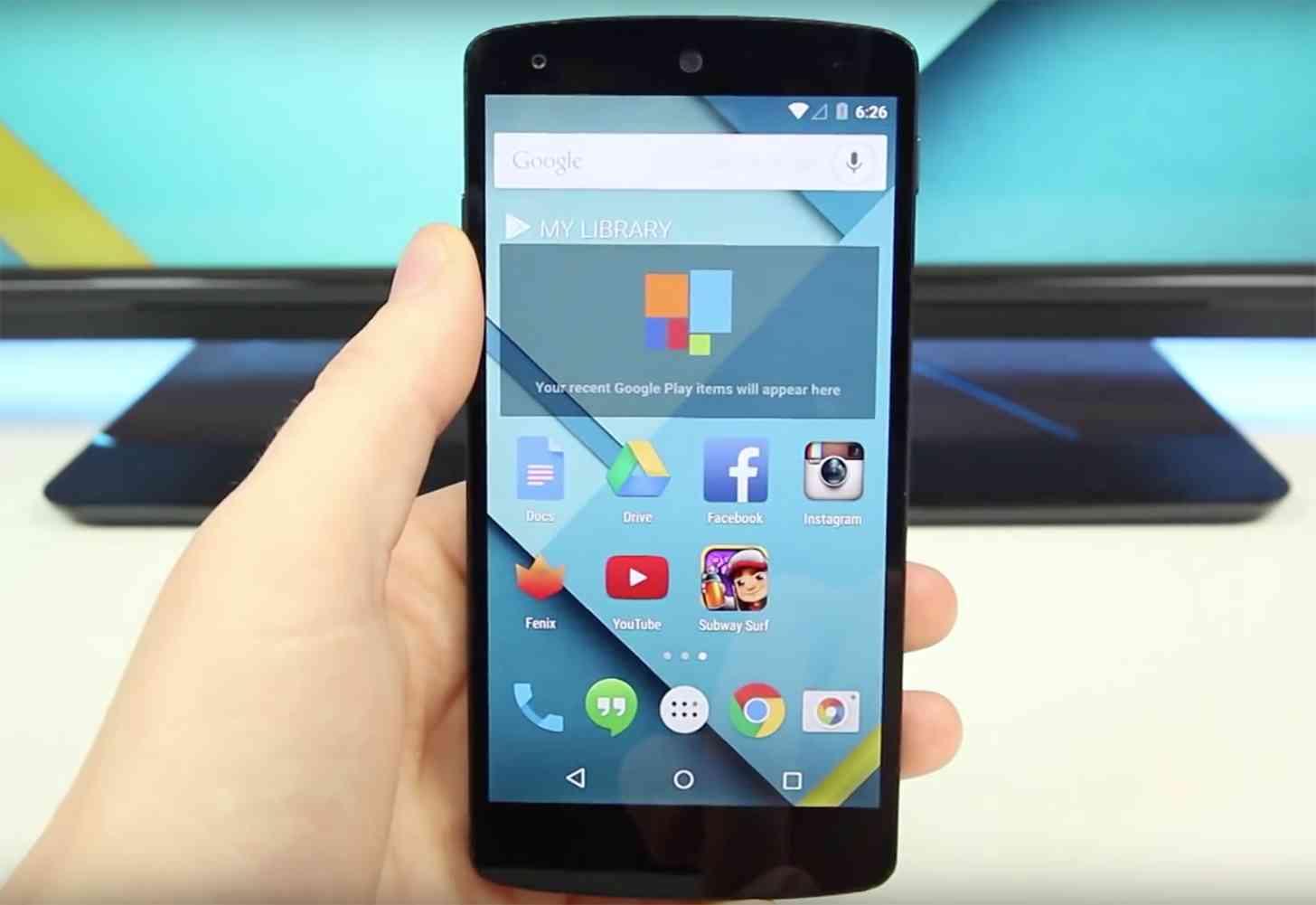 Nexus 5 hands on large