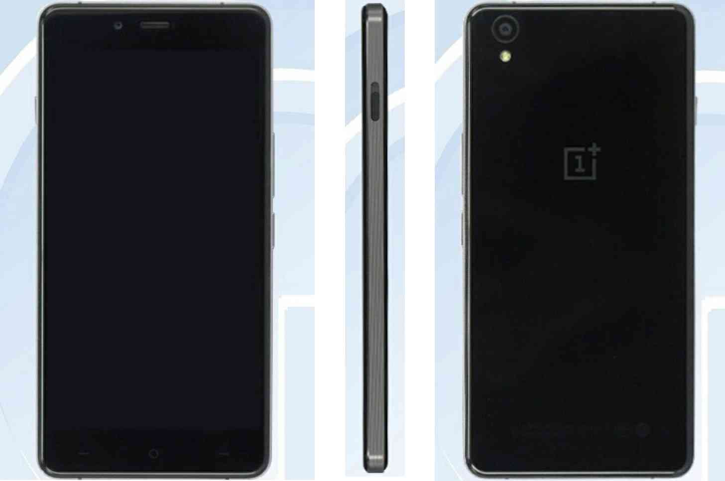OnePlus X mini TENAA leak large