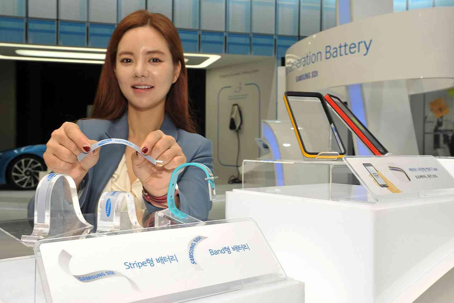 Samsung stripe battery