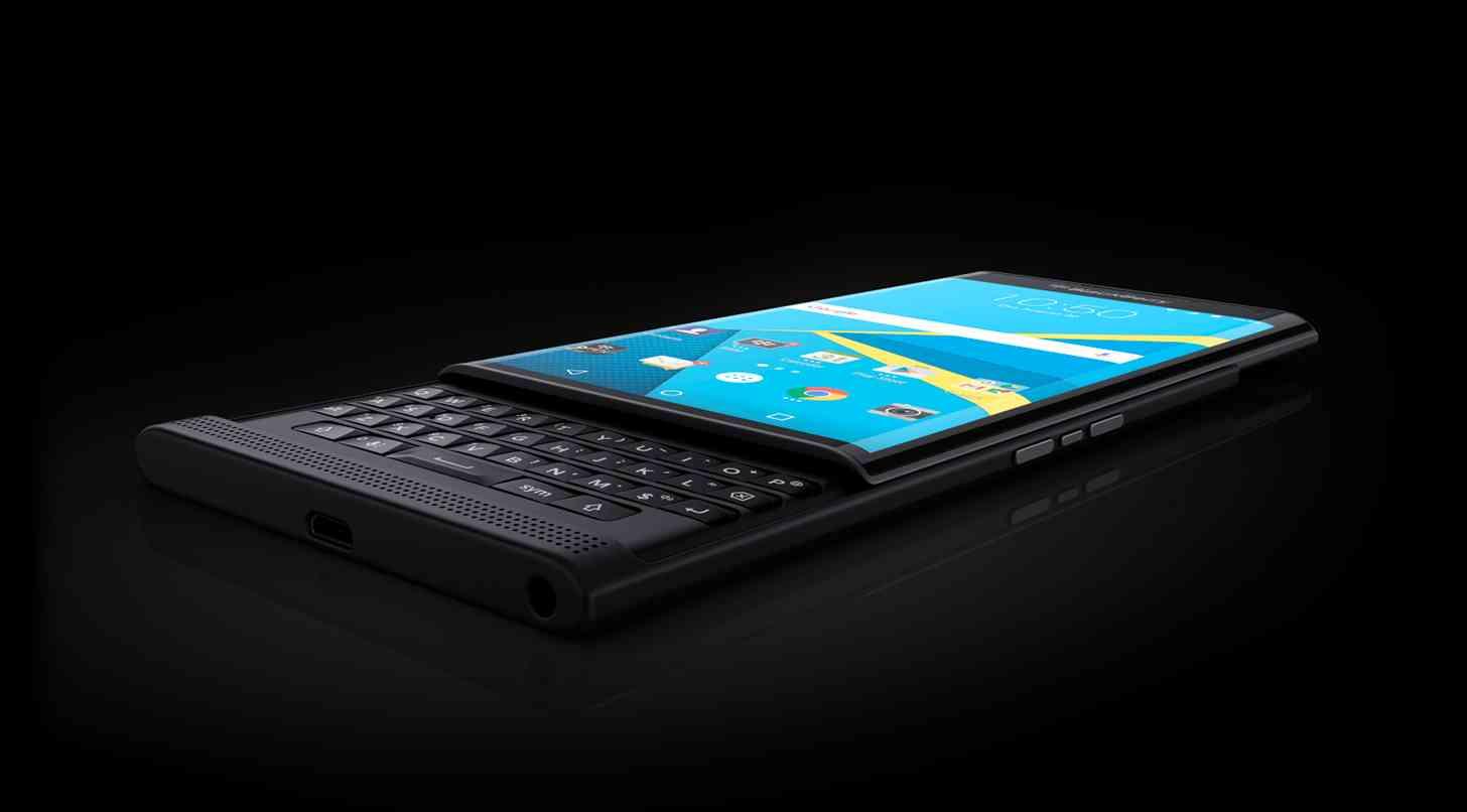 BlackBerry Priv angle