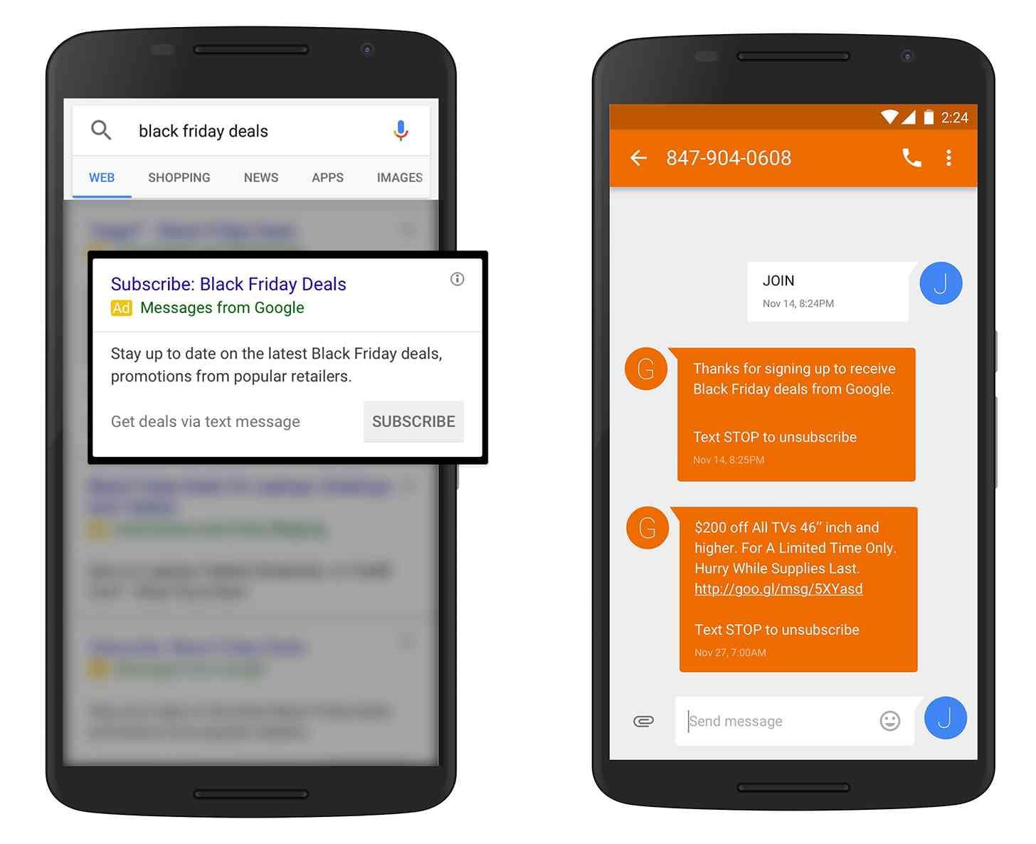 Googlesmsdeals Itok Fdetz Uj Google Send Text Messages Black Friday