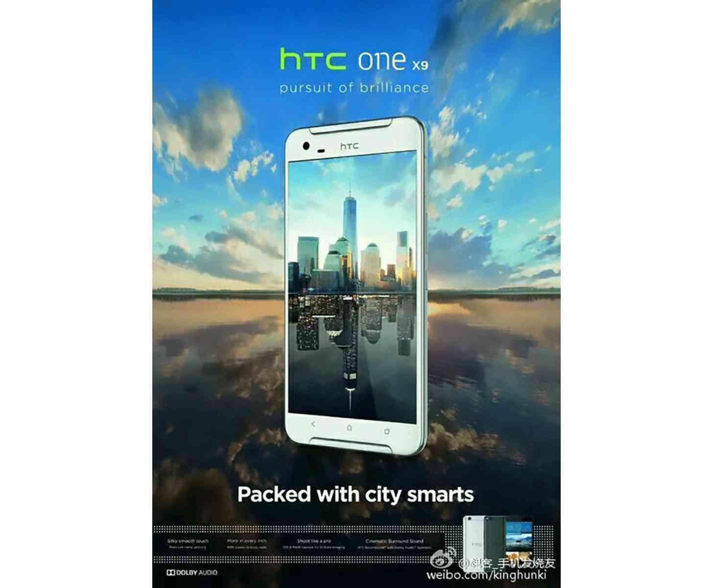 HTC One X9 image leak