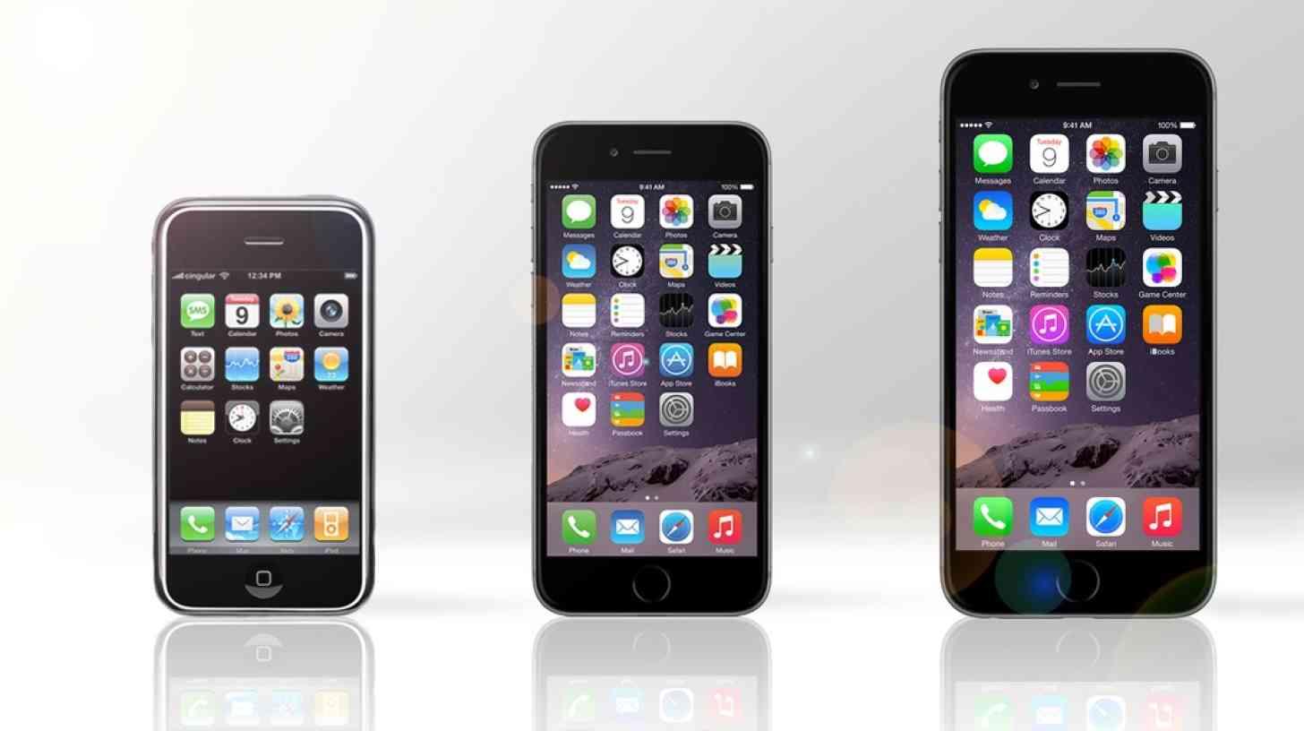 Original iPhone vs iPhone 6