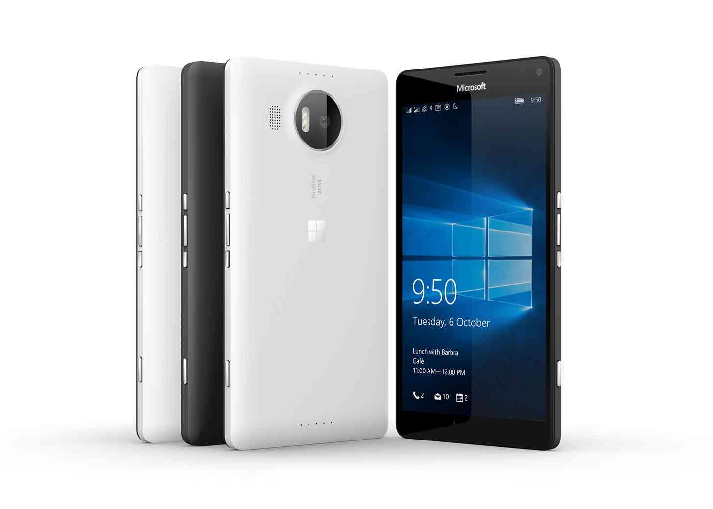 Microsoft Lumia 950 XL colors