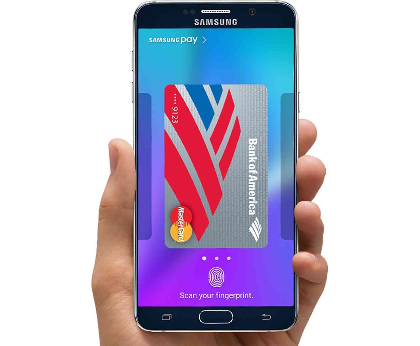 Samsung Pay Galaxy Note 5