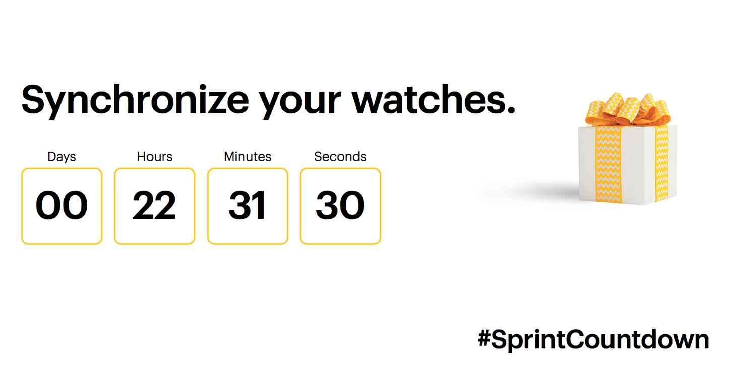 Sprint countdown November 18