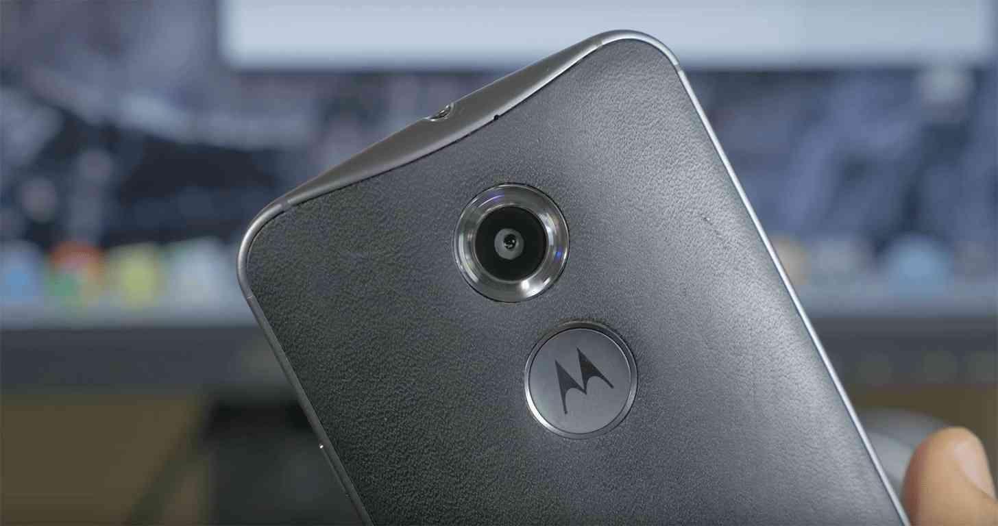 Moto X 2nd Gen leather back
