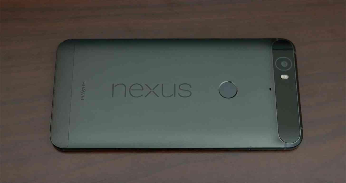 Google Nexus 6P rear
