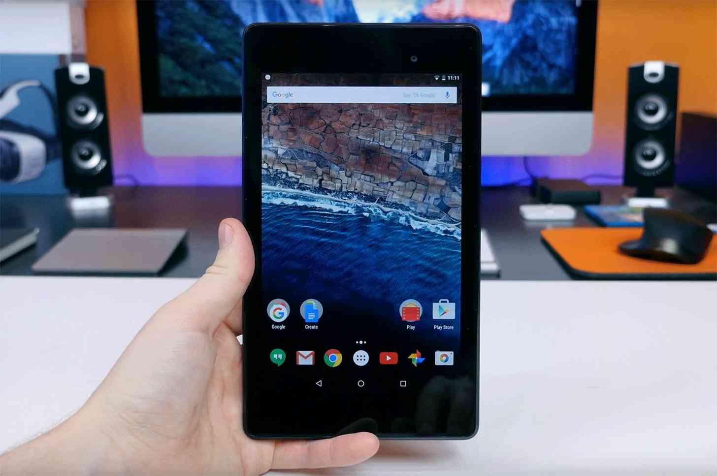 Nexus 7 (2013) Android 6.0 hands on