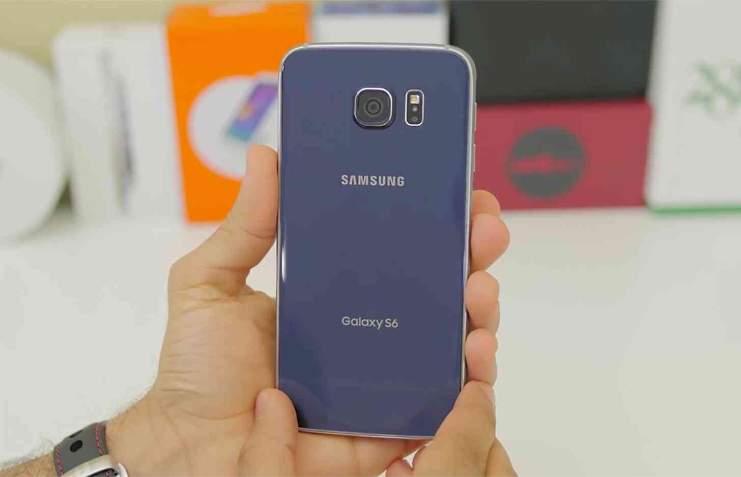 Samsung Galaxy S6 rear large