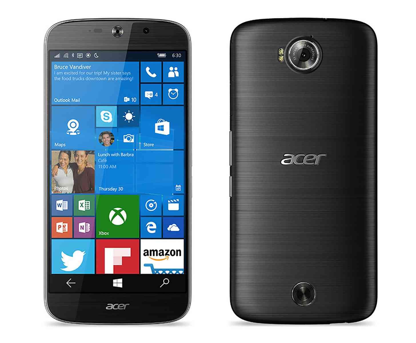 Acer Liquid Jade Primo official Windows 10 Mobile