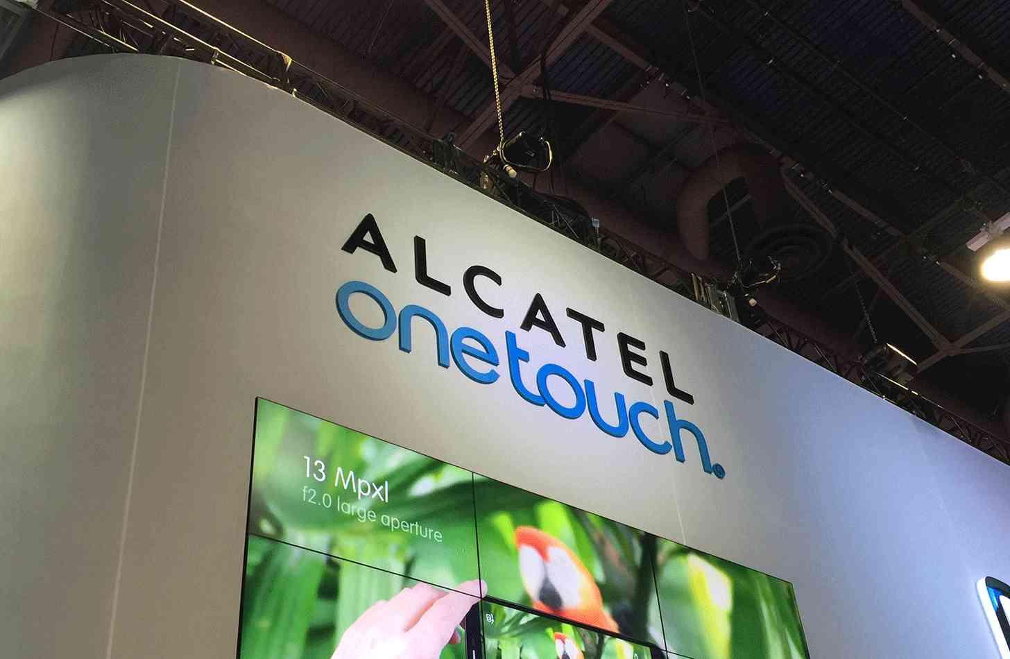 Alcatel OneTouch logo CES 2015