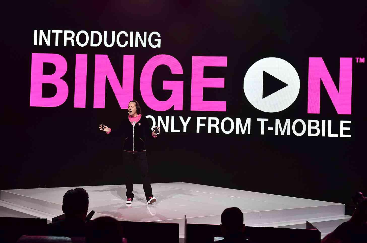 T-Mobile CEO John Legere Binge On announcement