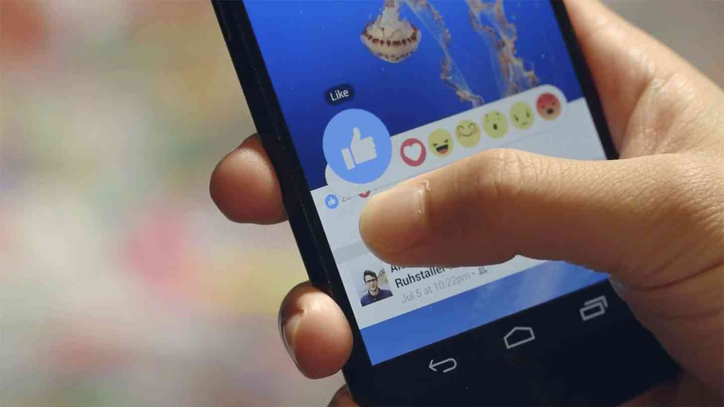 Facebook Reactions demo