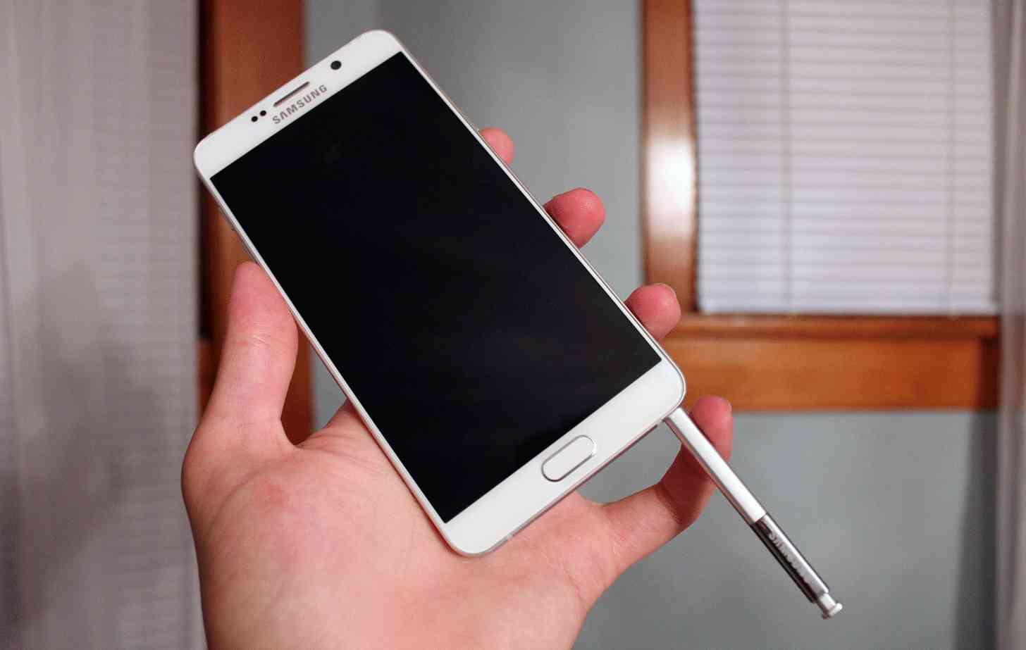 Samsung Galaxy Note5 backward S Pen