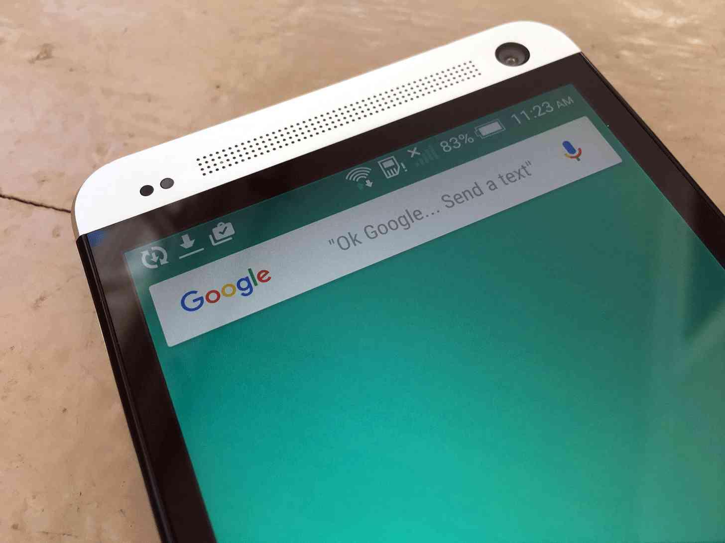 Google search bar HTC One