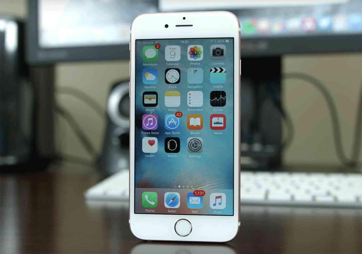 iOS 9 iPhone 6s