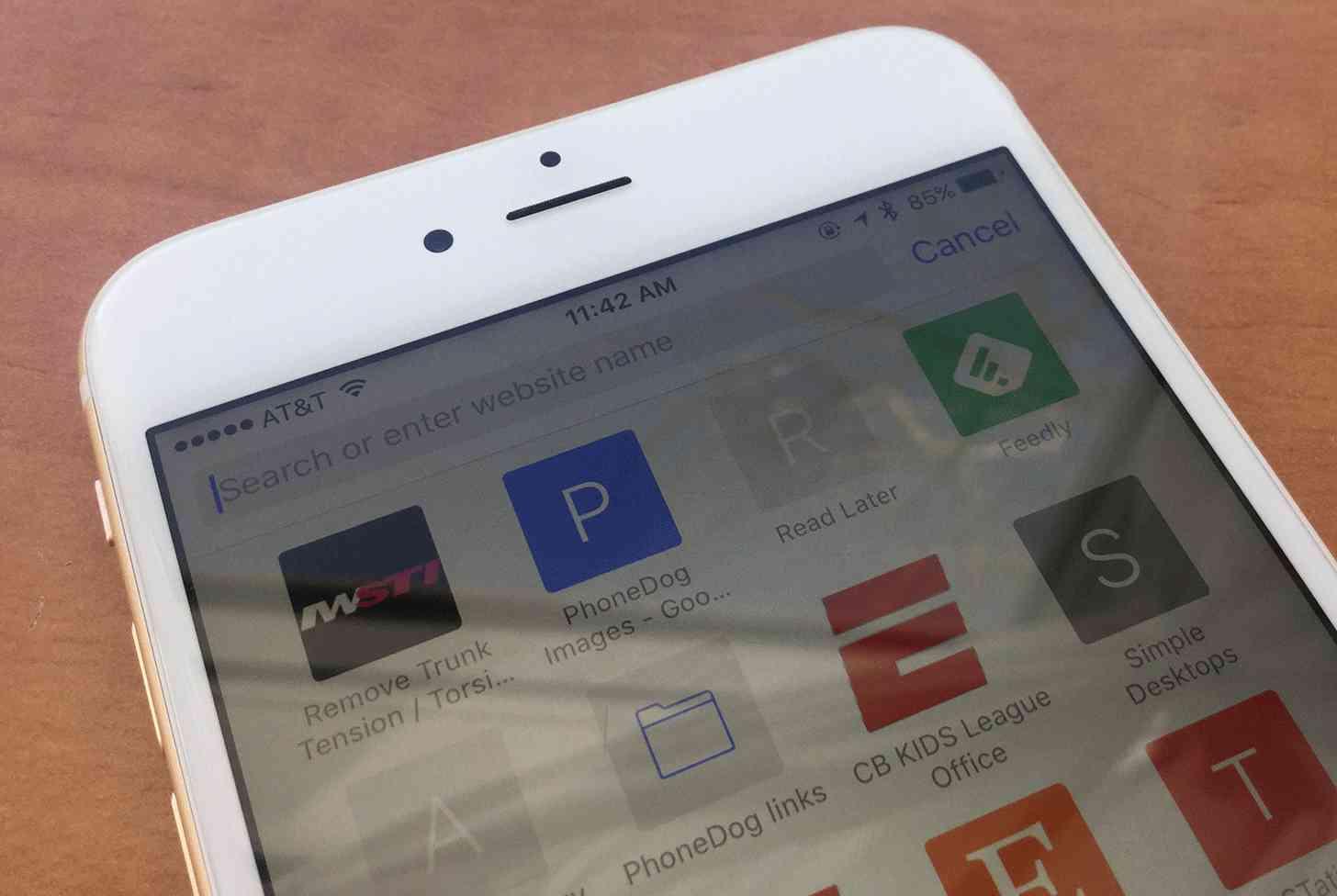 iOS Safari iPhone
