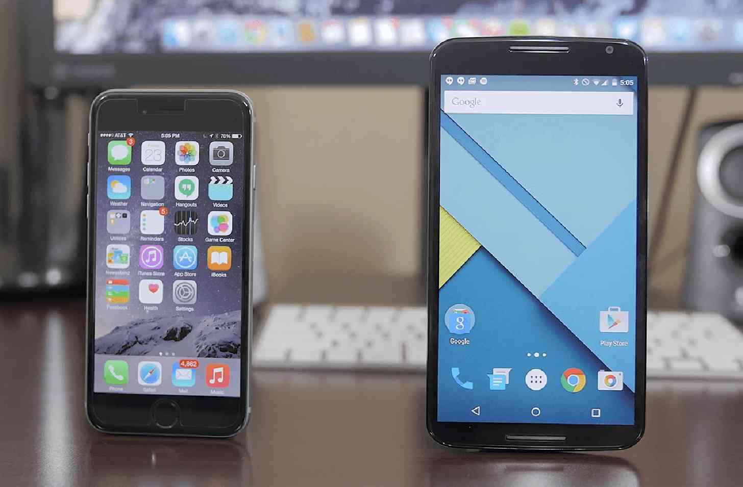 iPhone 6, Nexus 6