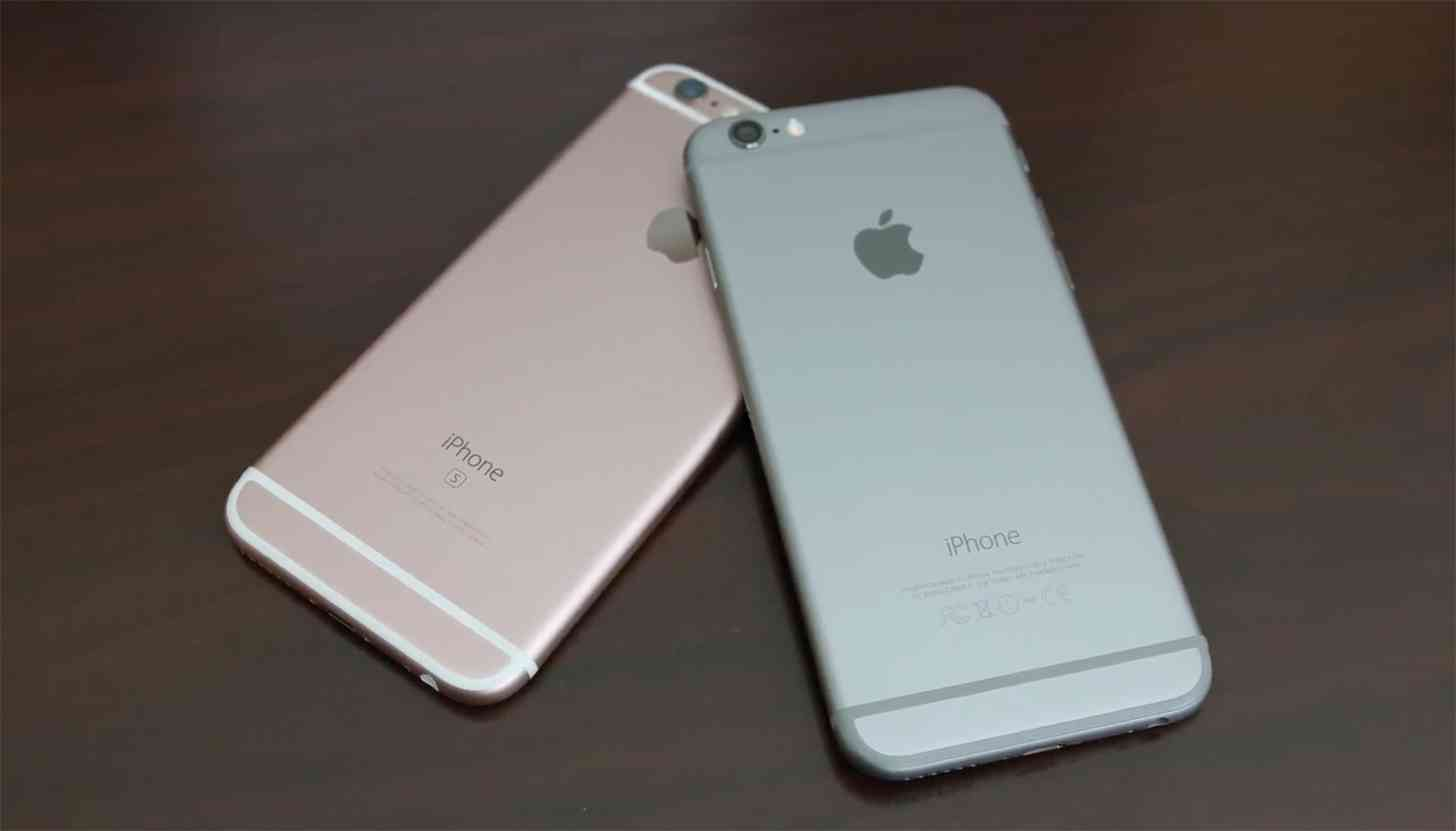 iPhone 6s Rose Gold, iPhone 6 Space Gray