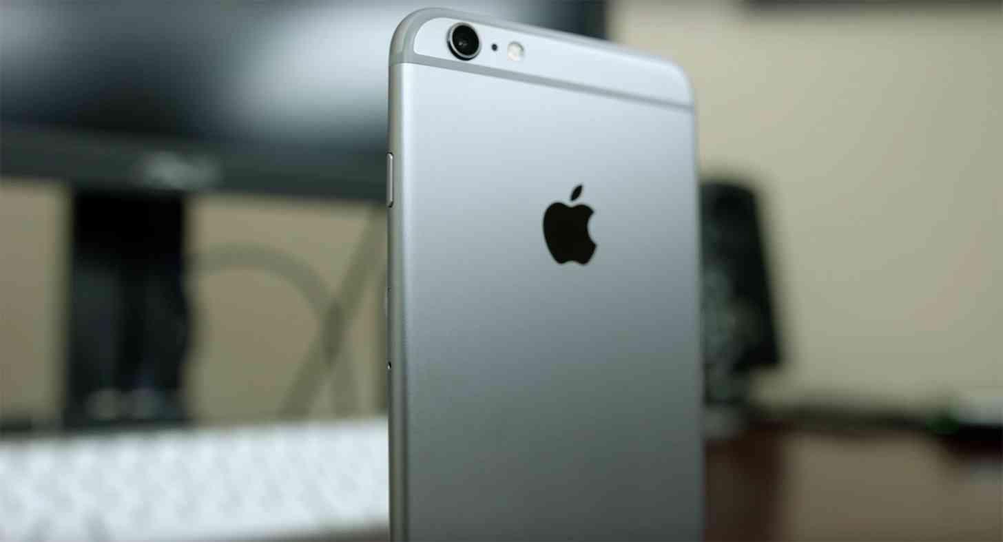 Apple iPhone 6s Plus rear
