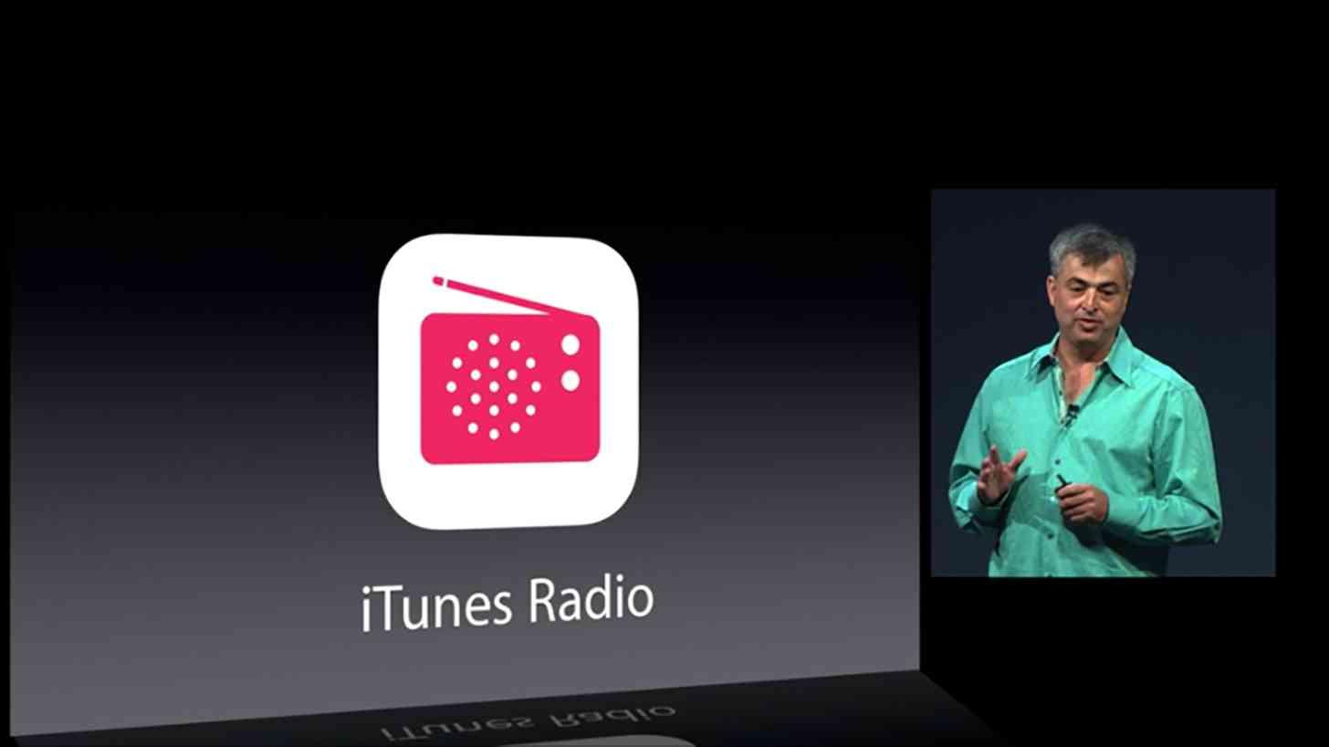 iTunes Radio announcement