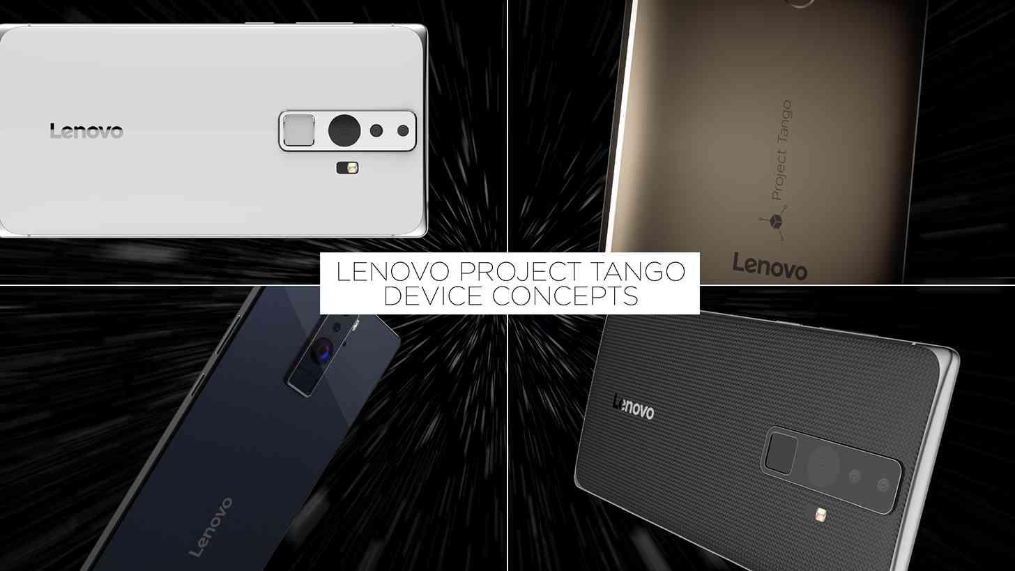 Lenovo Project Tango smartphone concepts