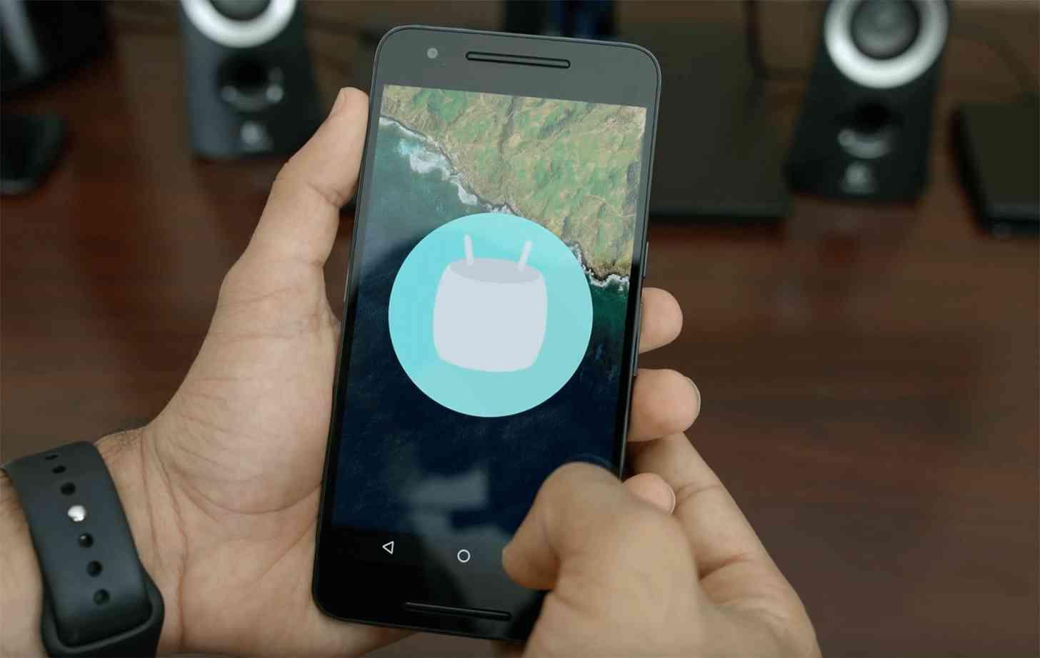 Nexus 6P Marshmallow Easter egg