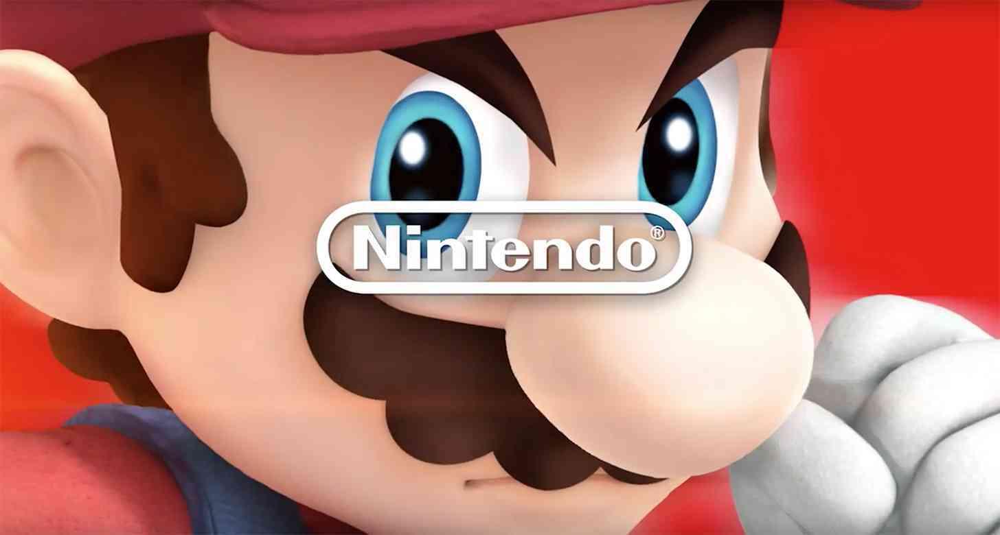 Nintendo logo Mario