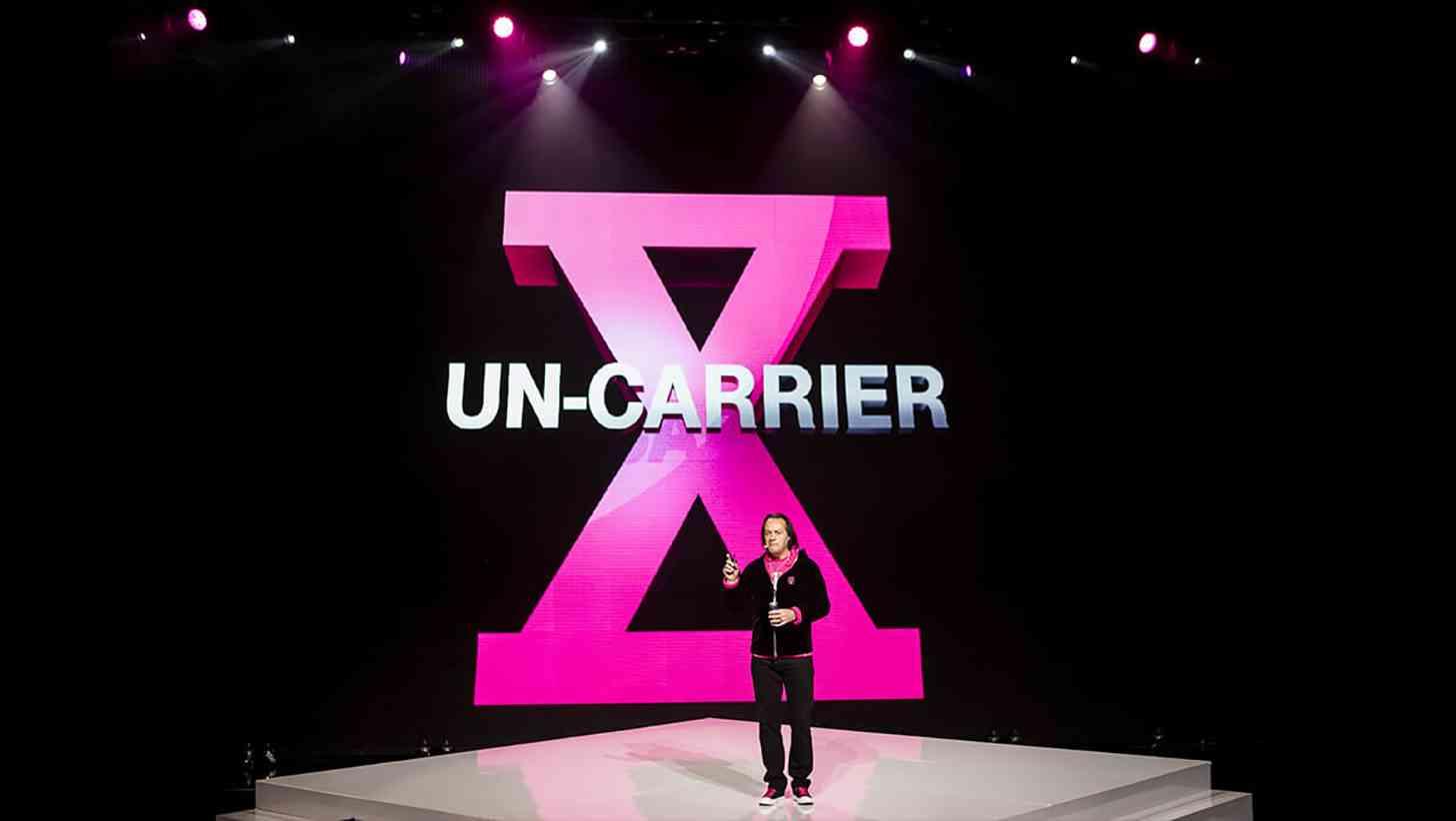 T-Mobile John Legere Un-carrier X