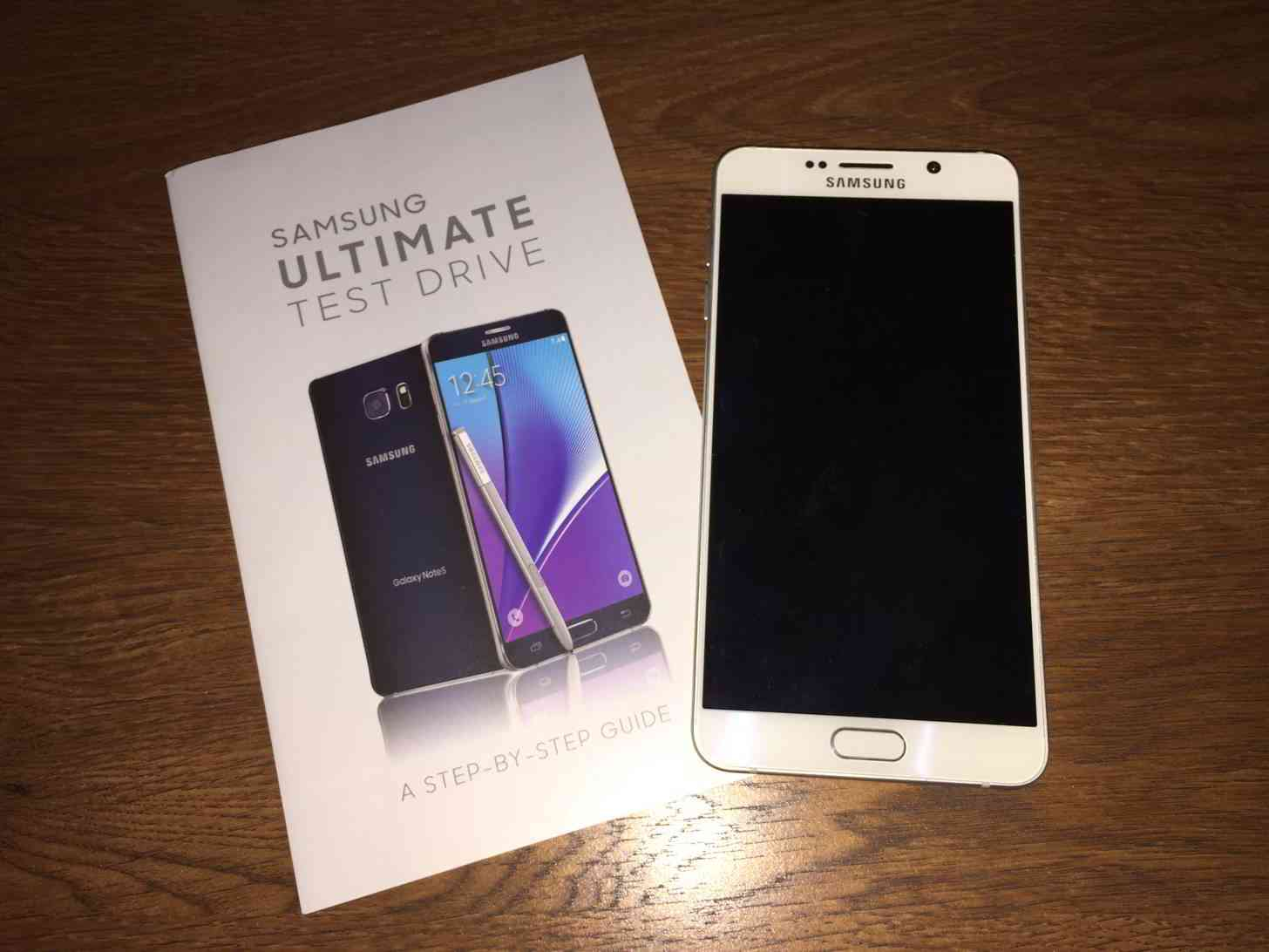 Samsung Ultimate Test Drive Note 5