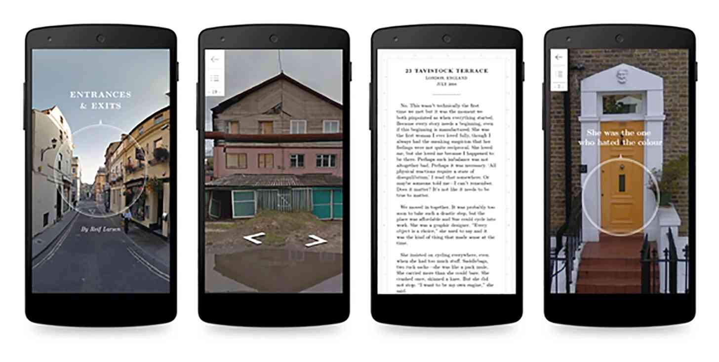 Google Editions at Play Entrances & Exits