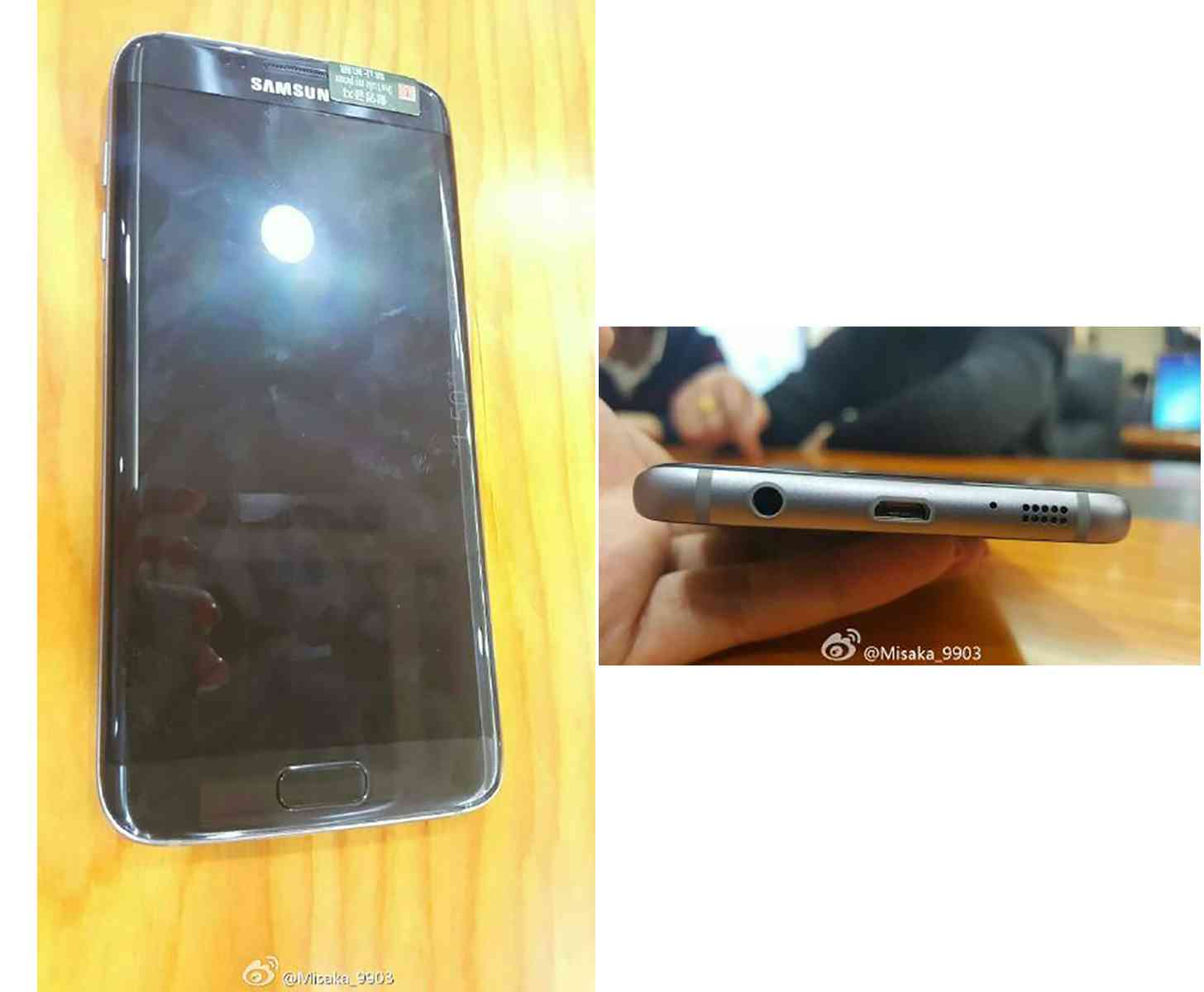 Samsung Galaxy S7 edge photos microUSB
