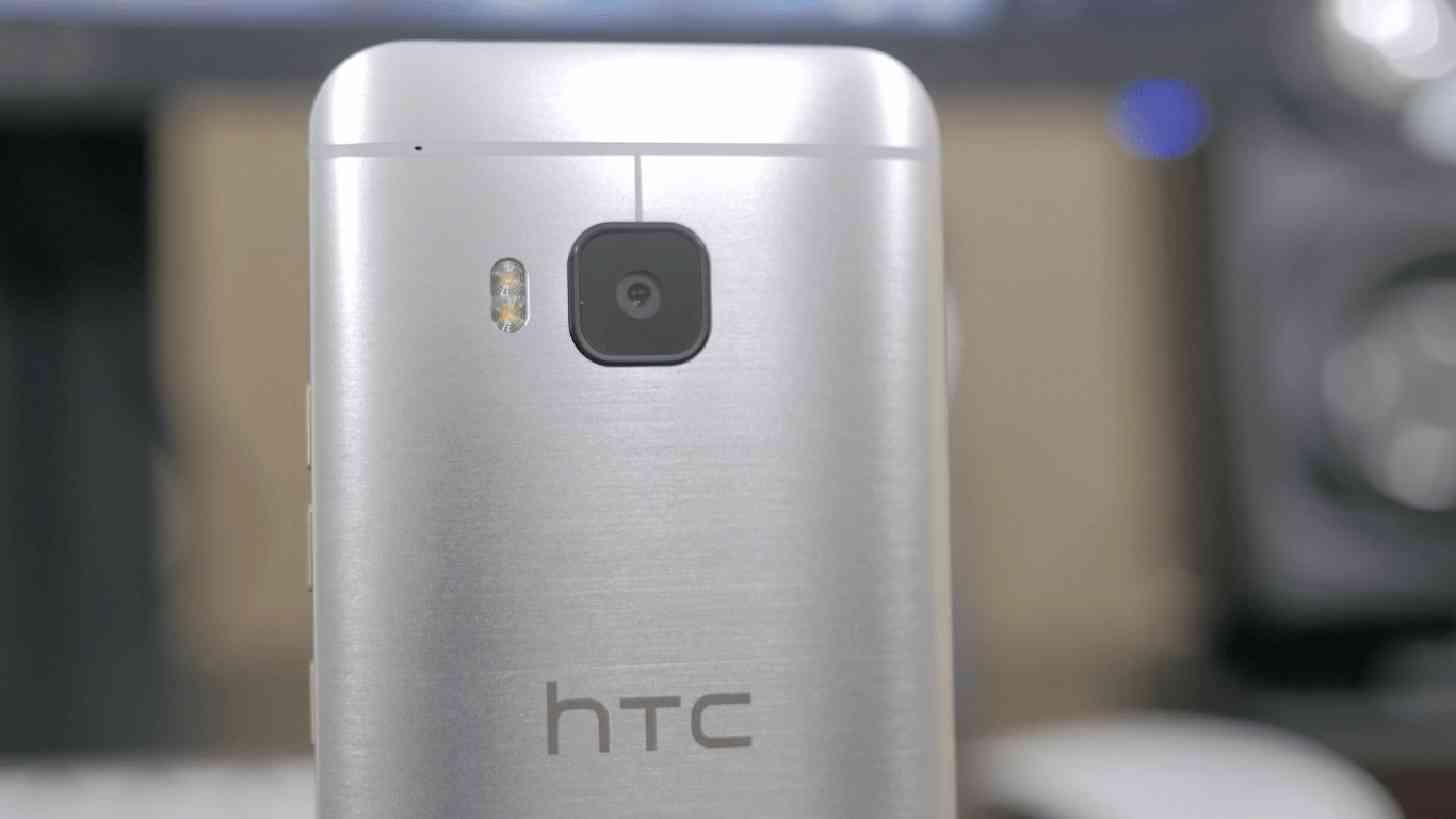 HTC One M9 rear