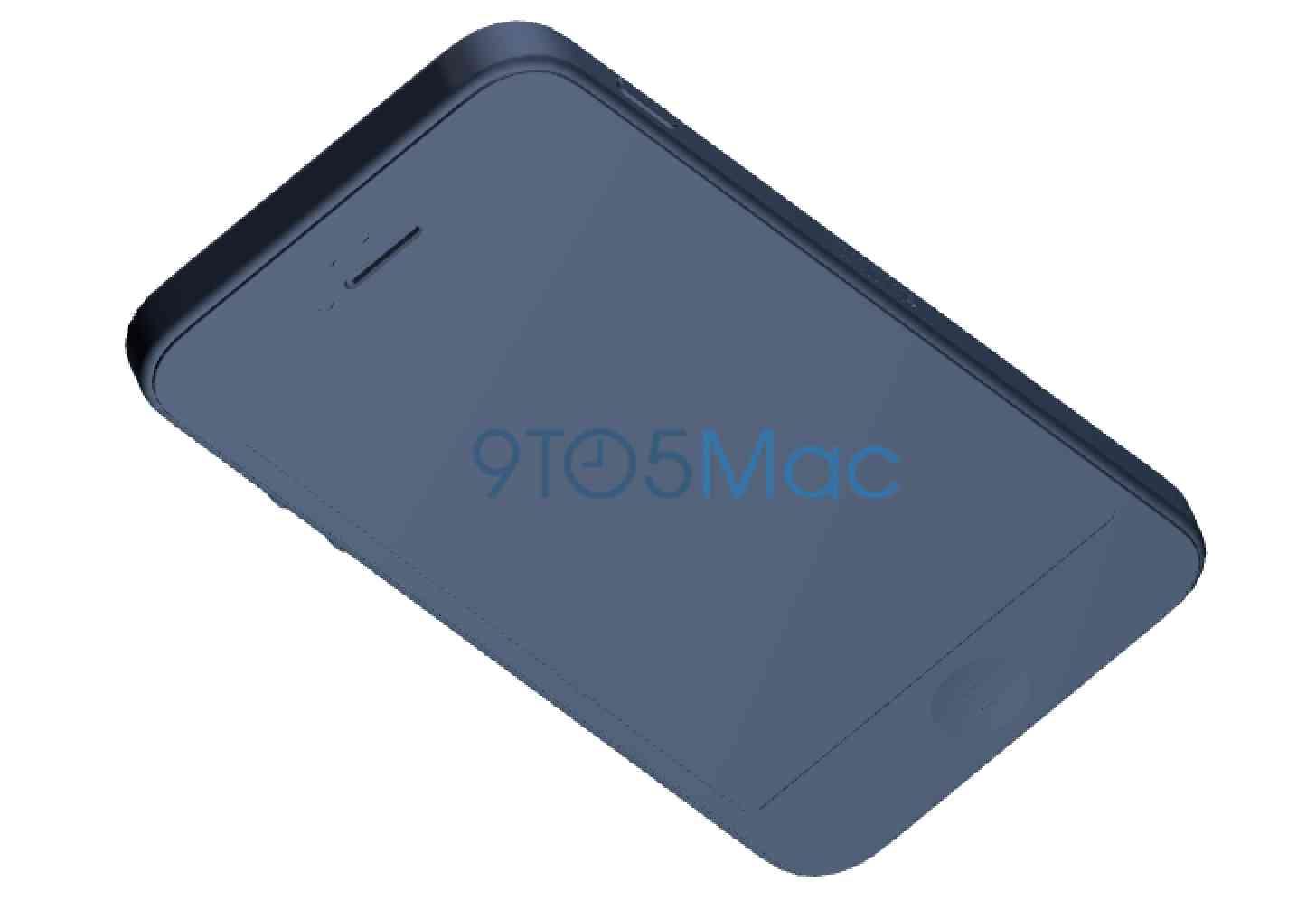 iPhone 5se design schematic leak