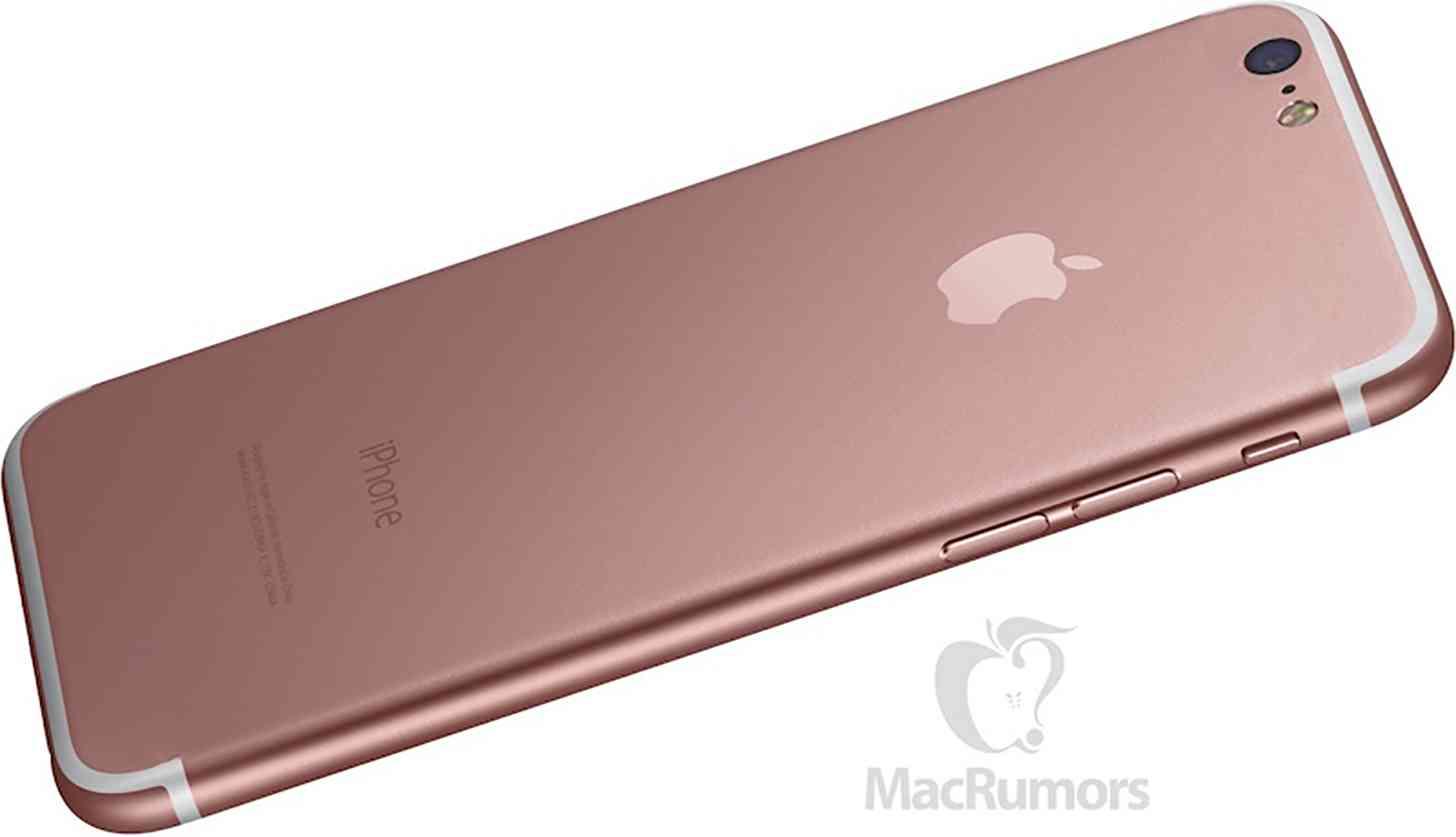 iPhone 7 design rumor mockup