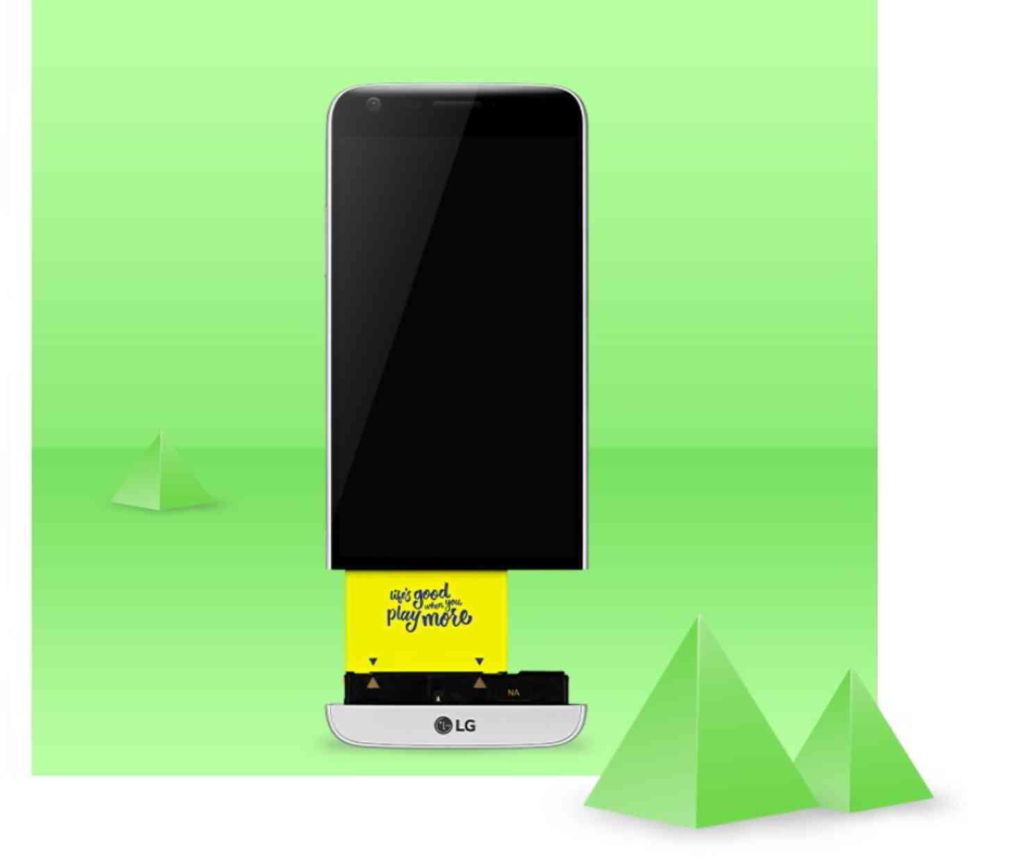 LG G5 modular type
