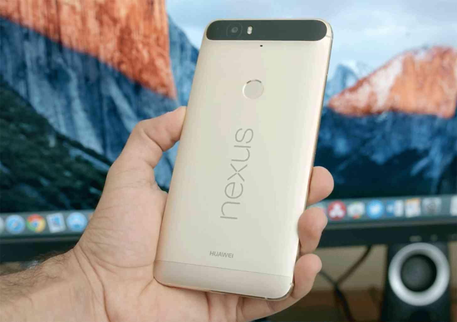 Matte Gold Nexus 6P hands on